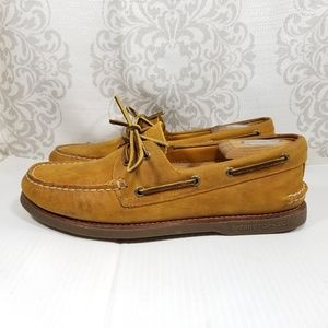 Sperry Top Sider Gold Cup Mens Leather Boat Shoes